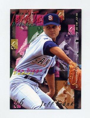 1995 Fleer Baseball #570 Jeff Tabaka - San Diego Padres