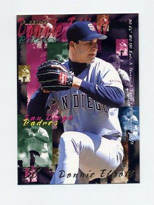 1995 Fleer Baseball #558 Donnie Elliott - San Diego Padres