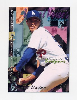 1995 Fleer Baseball #550 Ismael Valdes - Los Angeles Dodgers