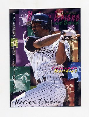 1995 Fleer Baseball #523 Nelson Liriano - Colorado Rockies