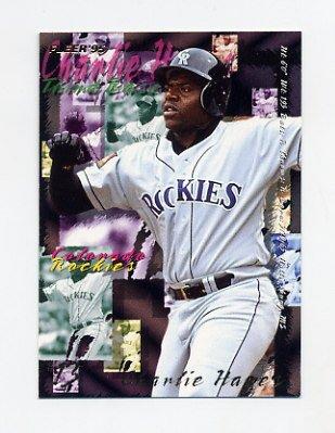 1995 Fleer Baseball #521 Charlie Hayes - Colorado Rockies