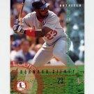 1995 Fleer Baseball #497 Bernard Gilkey - St. Louis Cardinals