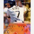 1995 Fleer Baseball #480 Jeff King - Pittsburgh Pirates