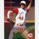 1995 Fleer Baseball #448 Pete Schourek - Cincinnati Reds