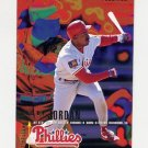 1995 Fleer Baseball #397 Ricky Jordan - Philadelphia Phillies