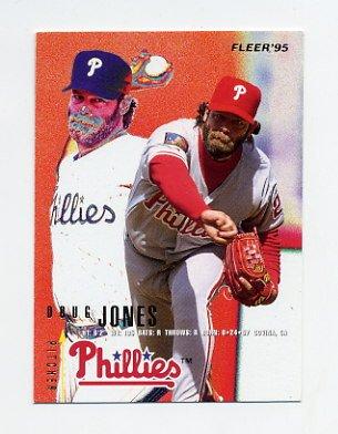 1995 Fleer Baseball #396 Doug Jones - Philadelphia Phillies