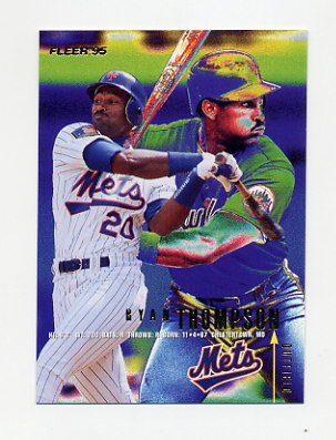 1995 Fleer Baseball #384 Ryan Thompson - New York Mets