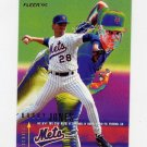 1995 Fleer Baseball #372 Bobby Jones - New York Mets