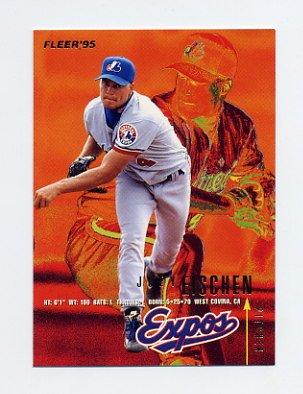 1995 Fleer Baseball #347 Joey Eischen - Montreal Expos
