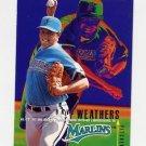 1995 Fleer Baseball #343 Dave Weathers - Florida Marlins