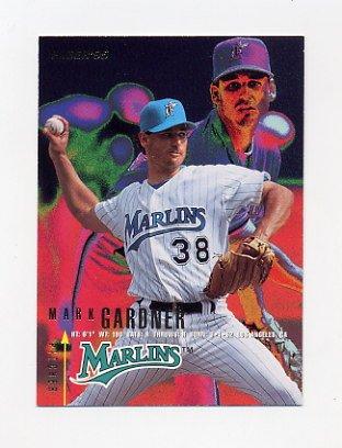 1995 Fleer Baseball #332 Mark Gardner - Florida Marlins