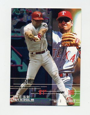 1995 Fleer Baseball #294 Bill Ripken - Texas Rangers