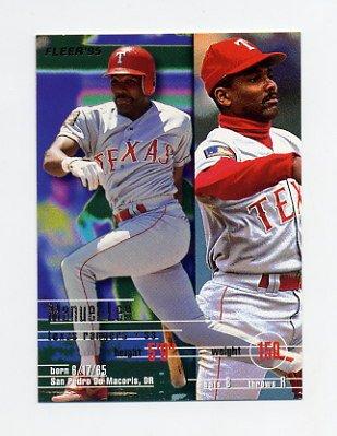 1995 Fleer Baseball #290 Manuel Lee - Texas Rangers