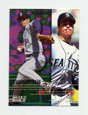 1995 Fleer Baseball #276 Roger Salkeld - Seattle Mariners