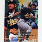 1995 Fleer Baseball #247 Stan Javier - Oakland A's