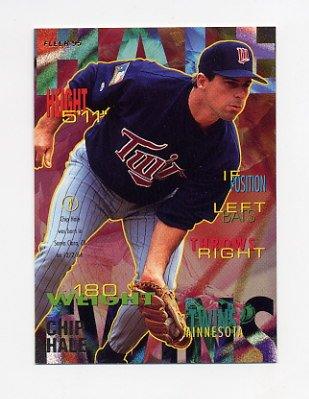 1995 Fleer Baseball #203 Chip Hale - Minnesota Twins