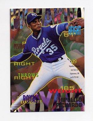 1995 Fleer Baseball #171 Hipolito Pichardo - Kansas City Royals