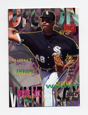 1995 Fleer Baseball #114 Jose DeLeon - Chicago White Sox
