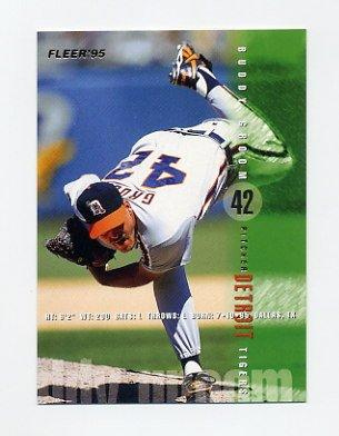 1995 Fleer Baseball #055 Buddy Groom - Detroit Tigers