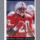 1997 Score Football #302 Michael Booker RC - Atlanta Falcons