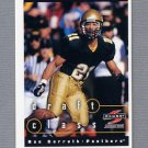 1997 Score Football #277 Rae Carruth RC - Carolina Panthers
