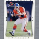 1997 Score Football #260 Bill Romanowski - Denver Broncos