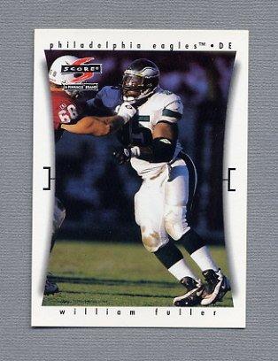 1997 Score Football #251 William Fuller - Philadelphia Eagles