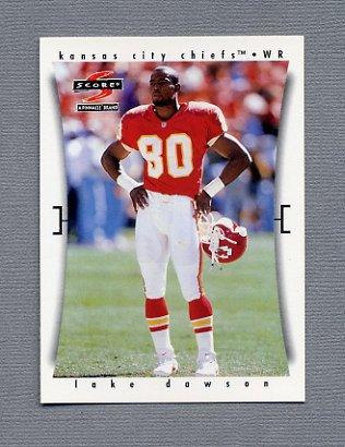 1997 Score Football #237 Lake Dawson - Kansas City Chiefs