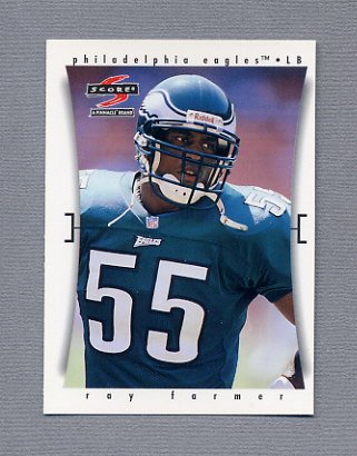 1997 Score Football #214 Ray Farmer - Philadelphia Eagles