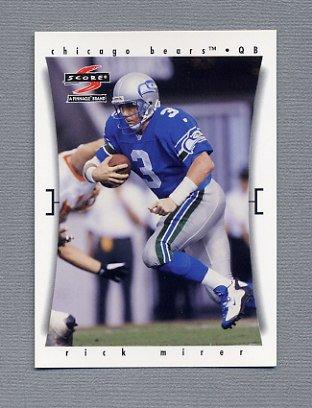 1997 Score Football #184 Rick Mirer - Chicago Bears
