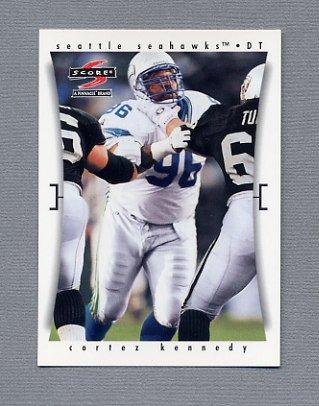 1997 Score Football #162 Cortez Kennedy - Seattle Seahawks