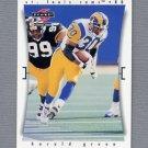 1997 Score Football #137 Harold Green - St. Louis Rams