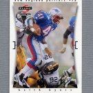 1997 Score Football #136 Keith Byars - New England Patriots