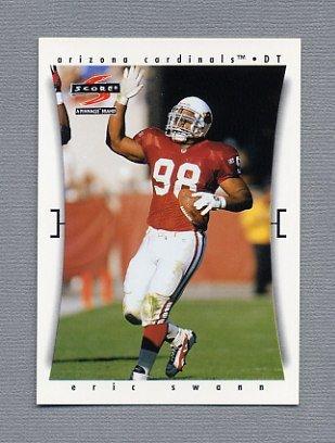 1997 Score Football #077 Eric Swann - Arizona Cardinals