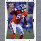 1997 Score Football #072 Allen Aldridge - Denver Broncos
