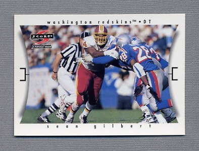 1997 Score Football #059 Sean Gilbert - Washington Redskins