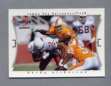 1997 Score Football #048 Hardy Nickerson - Tampa Bay Buccaneers