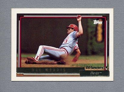 1992 Topps Baseball Gold Winners #773 Hal Morris - Cincinnati Reds