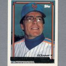 1992 Topps Baseball Gold Winners #759 Jeff Torborg MG - New York Mets