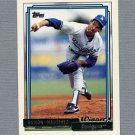 1992 Topps Baseball Gold Winners #730 Ramon Martinez - Los Angeles Dodgers ExMt