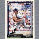 1992 Topps Baseball Gold Winners #722 Walt Terrell - Detroit Tigers