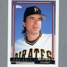 1992 Topps Baseball Gold Winners #486 Bob Walk - Pittsburgh Pirates