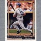 1992 Topps Baseball Gold Winners #455 Pete O'Brien - Seattle Mariners