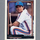 1992 Topps Baseball Gold Winners #376 Chris Donnels - New York Mets