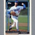 1992 Topps Baseball Gold Winners #363 John Candelaria - Los Angeles Dodgers
