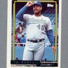 1992 Topps Baseball Gold Winners #352 Ed Nunez - Milwaukee Brewers