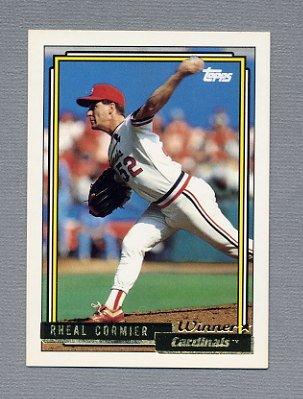 1992 Topps Baseball Gold Winners #346 Rheal Cormier - St. Louis Cardinals