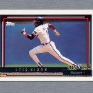 1992 Topps Baseball Gold Winners #340 Otis Nixon - Atlanta Braves
