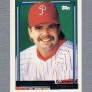 1992 Topps Baseball Gold Winners #331 Steve Lake - Philadelphia Phillies