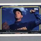 1992 Topps Baseball Gold Winners #303 Dan Plesac - Milwaukee Brewers